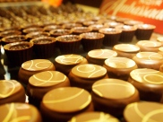 Testing chocolates in Switzerland